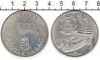 Изображение Монеты Венгрия 1000 форинтов 1995 Серебро XF
