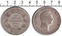 Изображение Монеты Баден 1 талер 1856 Серебро