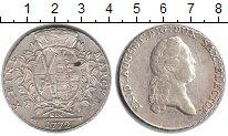 Изображение Монеты Саксония 1 талер 1772 Серебро XF