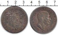 Изображение Монеты Ганновер 1 талер 1843 Серебро