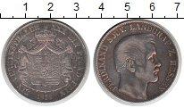 Изображение Монеты Гессен 1 талер 1858 Серебро  Фердинанд.