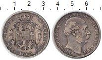 Изображение Монеты Мекленбург-Шверин 1 талер 1864 Серебро  Фридрих Франц.