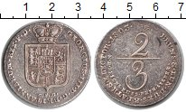 Изображение Монеты Брауншвайг-Люнебург 2/3 талера 1803 Серебро XF