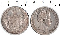 Изображение Монеты Брауншвайг-Вольфенбюттель 1 талер 1858 Серебро VF