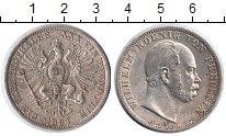 Изображение Монеты Пруссия 1 талер 1867 Серебро XF Вильгельм I