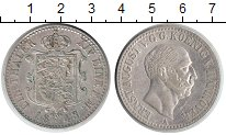 Изображение Монеты Ганновер 1 талер 1843 Серебро XF Эрнст Август