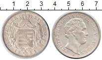 Изображение Монеты Саксония 1 талер 1851 Серебро UNC-