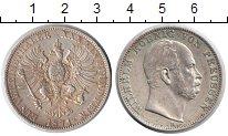 Изображение Монеты Пруссия 1 талер 1871 Серебро VF Вильгельм I