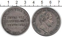 Изображение Монеты Пруссия 1 талер 1840 Серебро XF