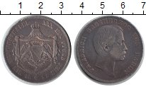 Изображение Монеты Баден 1 талер 1858 Серебро VF Фридрих