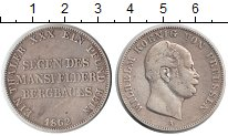 Изображение Монеты Пруссия 1 талер 1862 Серебро VF Вильгельм I