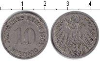 Изображение Монеты Германия 10 пфеннигов 1905 Медно-никель XF