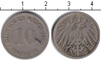Изображение Монеты Германия 10 пфеннигов 1905 Медно-никель