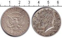 Изображение Монеты США 1/2 доллара 1964 Серебро