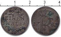 Изображение Монеты Пруссия 1/24 талера 1783 Серебро