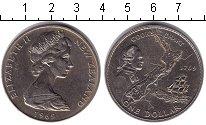 Изображение Монеты Новая Зеландия 1 доллар 1969 Медно-никель XF