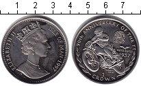 Изображение Монеты Остров Мэн 1 крона 1997  Proof- Елизавета II. 90 лет