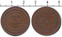 Изображение Монеты Тунис 5 сантимов 1912 Медь XF