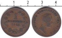Изображение Монеты Баден 1 крейцер 1844 Медь
