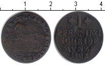 Изображение Монеты Брауншвайг-Люнебург 1 пфенниг 1802 Медь