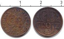 Изображение Монеты Польша 1 грош 1933 Медь XF