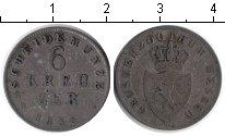 Изображение Монеты Гессен 6 крейцеров 1835 Серебро