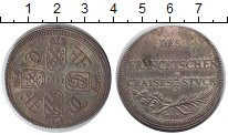 Изображение Монеты Нюрнберг 2/3 талера 1693 Серебро XF Франкония