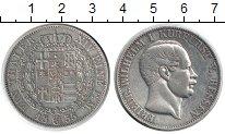 Изображение Монеты Гессен 1 талер 1855 Серебро XF