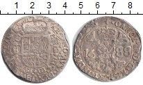 Изображение Монеты Нидерланды 1 гульден 1688 Серебро VF Австрийские Нидерлан