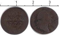 Изображение Монеты Пруссия 2 гроша 1777 Медь VF