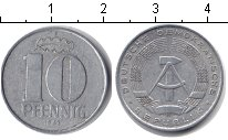 Изображение Монеты ГДР 10 пфеннигов 1963 Алюминий XF А