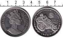 Изображение Монеты Остров Мэн 1 крона 1967 Медно-никель XF