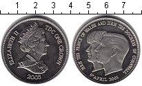 Изображение Монеты Тристан-да-Кунья 1 крона 2005 Медно-никель UNC- Елизавета II.