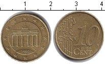 Изображение Барахолка Германия 10 евроцентов 2002 Медно-никель VF брандербургские воро