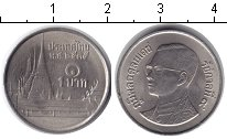 Изображение Дешевые монеты Таиланд 1 бат 1995 Медно-никель XF