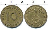 Изображение Монеты Третий Рейх 10 пфеннигов 1937 Медь XF E.