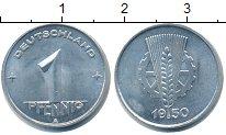 Изображение Монеты ГДР 1 пфенниг 1950 Алюминий UNC-