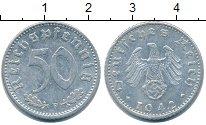 Изображение Монеты Третий Рейх 50 пфеннигов 1942 Алюминий XF
