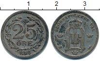 Изображение Монеты Швеция 25 эре 1885 Серебро  Оскар II
