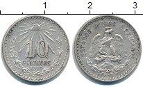 Изображение Монеты Мексика 10 сентаво 1919 Серебро XF