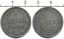 Изображение Монеты Финляндия 1 марка 1893 Серебро XF