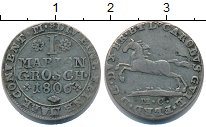 Изображение Монеты Брауншвайг-Люнебург 1 марьенгрош 1806 Серебро