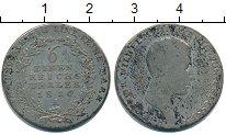 Изображение Монеты Пруссия 1/6 талера 1816 Серебро  Фридрих Вильгельм II