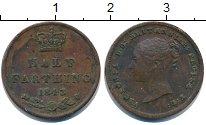 Изображение Монеты Великобритания 1/2 фартинга 1843 Медь  Виктория.