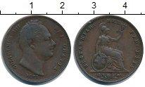 Изображение Монеты Великобритания 1 фартинг 1831 Медь