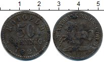 Изображение Монеты Нотгельды 50 пфеннигов 1921 Цинк  Брауншвайг.