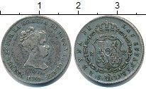 Изображение Монеты Испания 2 реала 1839 Серебро VF