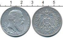 Изображение Монеты Баден 2 марки 1902 Серебро XF