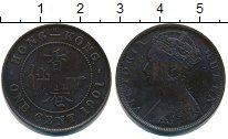 Изображение Монеты Гонконг 1 цент 1901 Медь