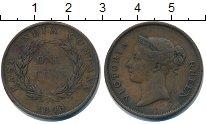 Изображение Монеты Индия 1 цент 1845 Медь